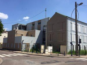 Construction logements sociaux ossature acier leger