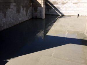 Dallage de sous-sol, chantier Bougival (78)
