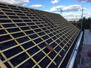Rehaussement d'une maison en structure métallique acier léger