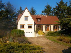 Maçonnerie agrandissement maison avec toiture